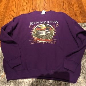 VINTAGE Minnesota sweater